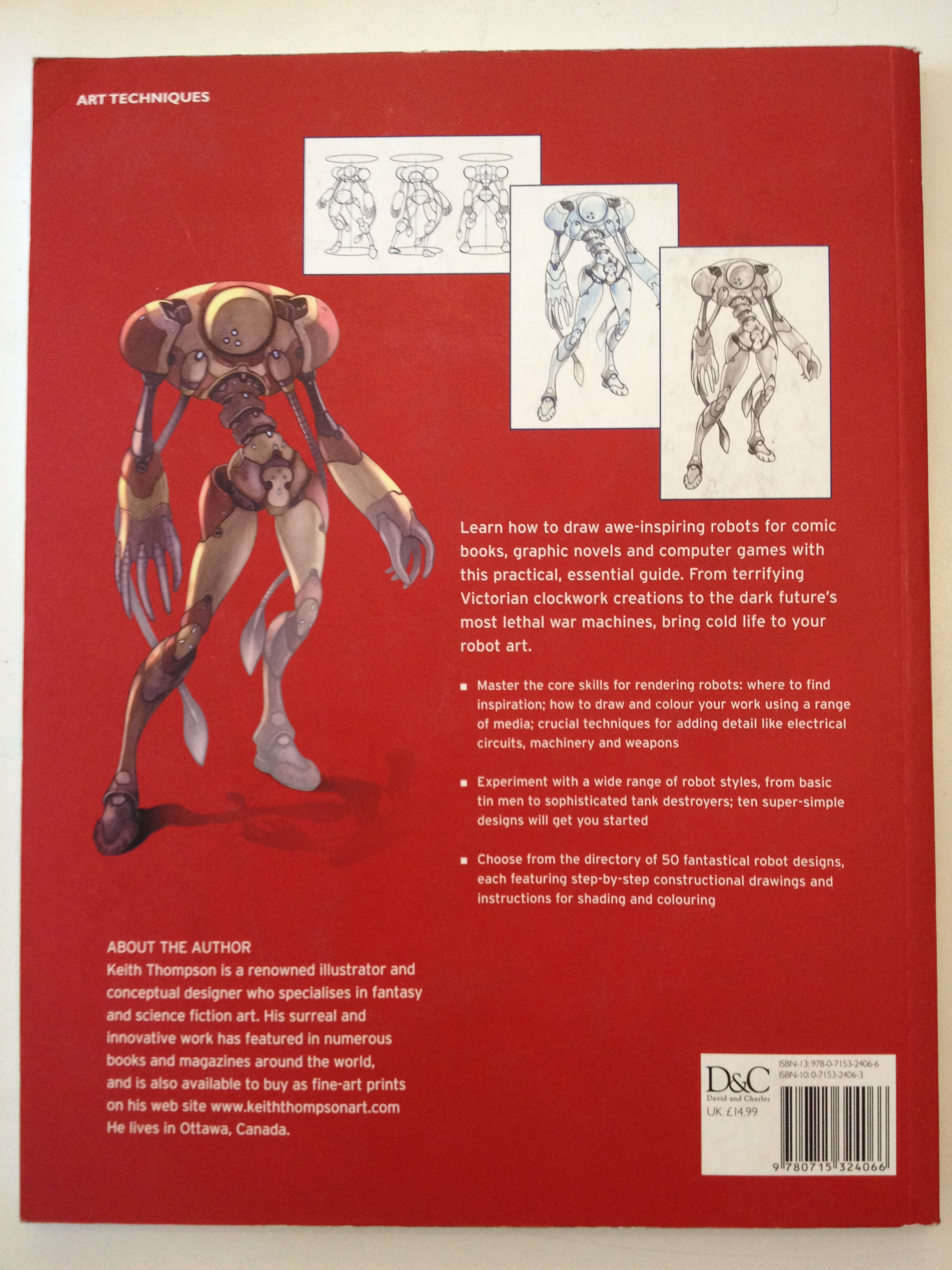 50 Robots to Draw and Paint | Yesterdays Books \u0026 Things